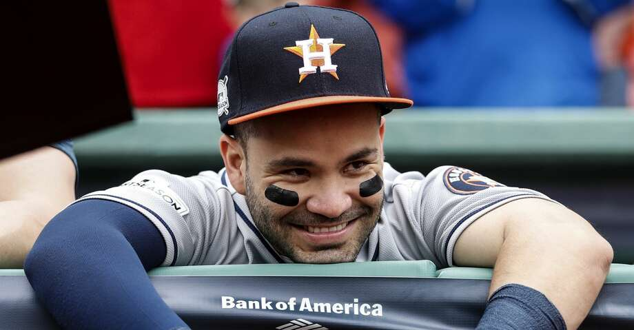 Weeks after being named Sports Illustrated's Co-Sportperson of the Year with Texans star J.J. Watt, Astros second baseman Jose Altuve was voted the Associated Press' Male Athlete of the Year. Click through the gallery to relive Altuve's memorable 2017 season. Photo: Karen Warren/Houston Chronicle