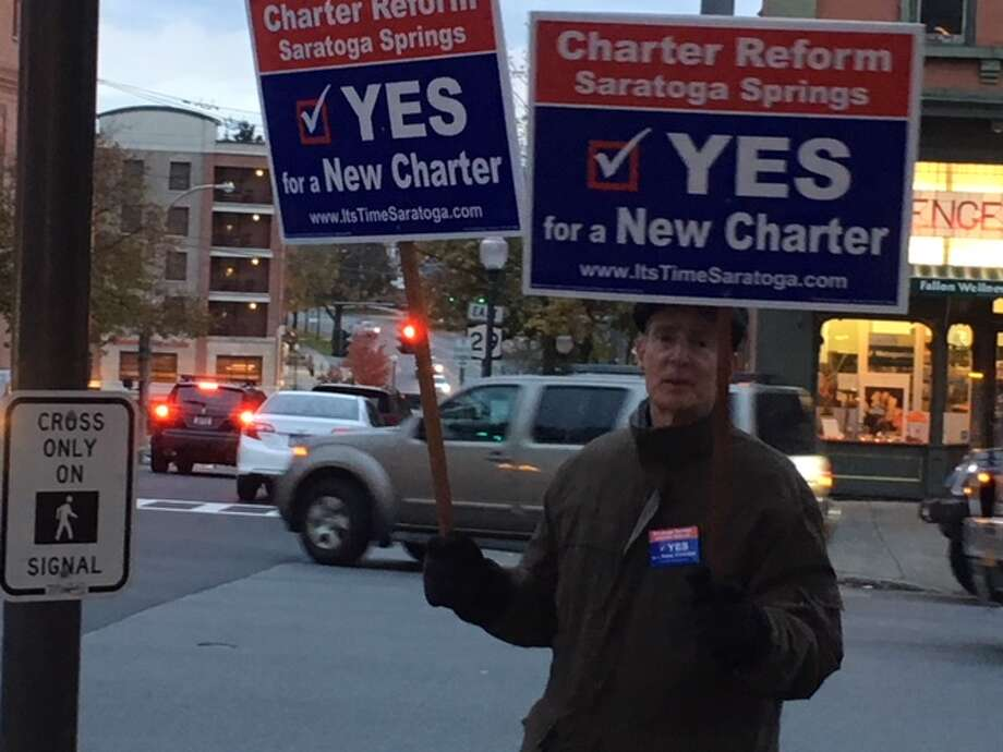 The vote on charter change in Saratoga Springs comes down to the absentee ballots.