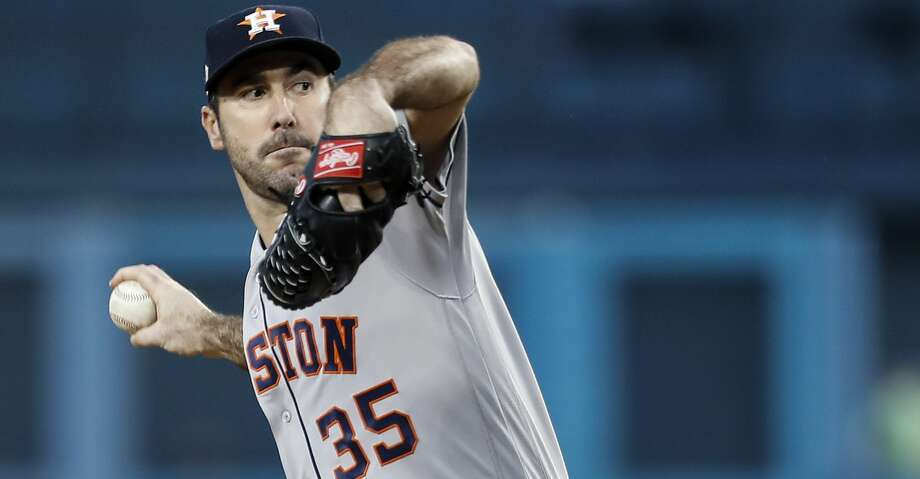 Justin Verlander has been named the Astros' Opening Day starter. Photo: Brett Coomer/Houston Chronicle