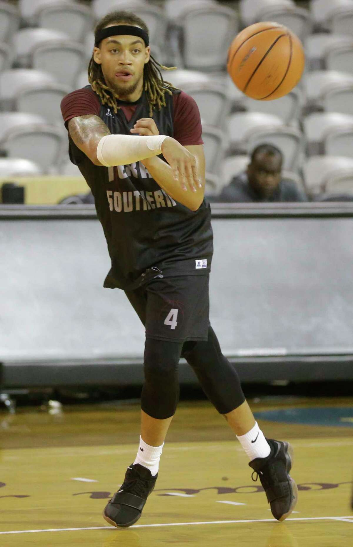 TSU senior forward Kevin Scott embraces the long road ahead, saying the tough schedule will show the Tigers what they need to work on to get better.