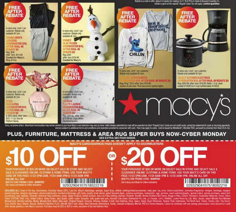 Macy S Releases Their 2017 Black Friday Ad Shares Details Of Store