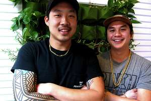 Sean Wen, left, and Andrew Ho will open a Pinch Boil House and Bia Bar location in Austin in the summer.
