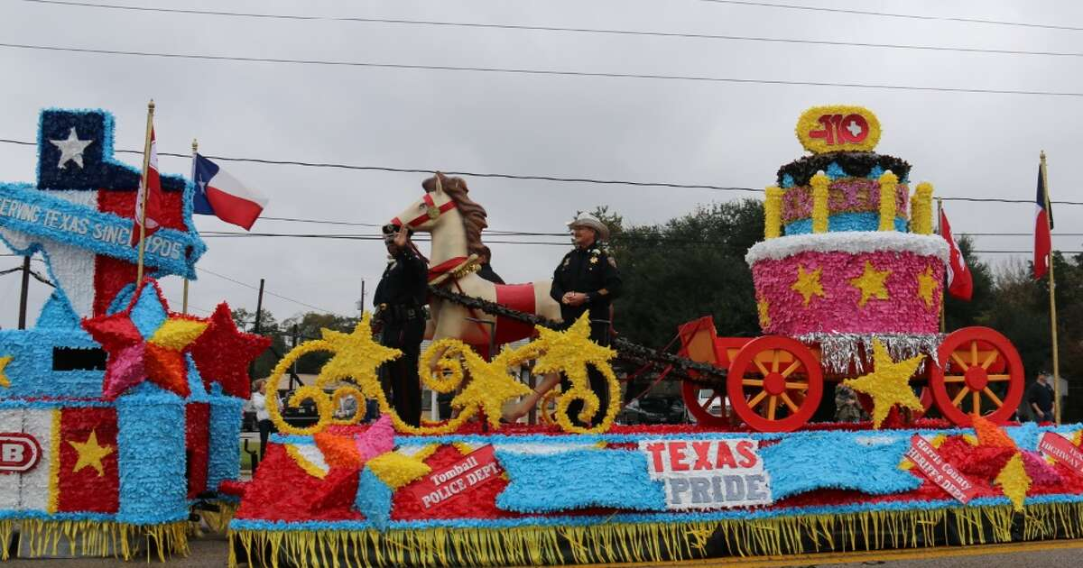 TomballÂ?'s annual holiday parade and Miss Tomball Pageant will highlight first respondersÂ?' efforts during Hurricane Harvey. Beginning at 10 a.m. Nov. 18, the 52nd holiday parade will line up in downtown Tomball. The grand marshals for this yearÂ?'s parade include Harris County Judge Ed Emmett, first responders from the city of Tomball, Harris County agencies and the Texas National Guard.