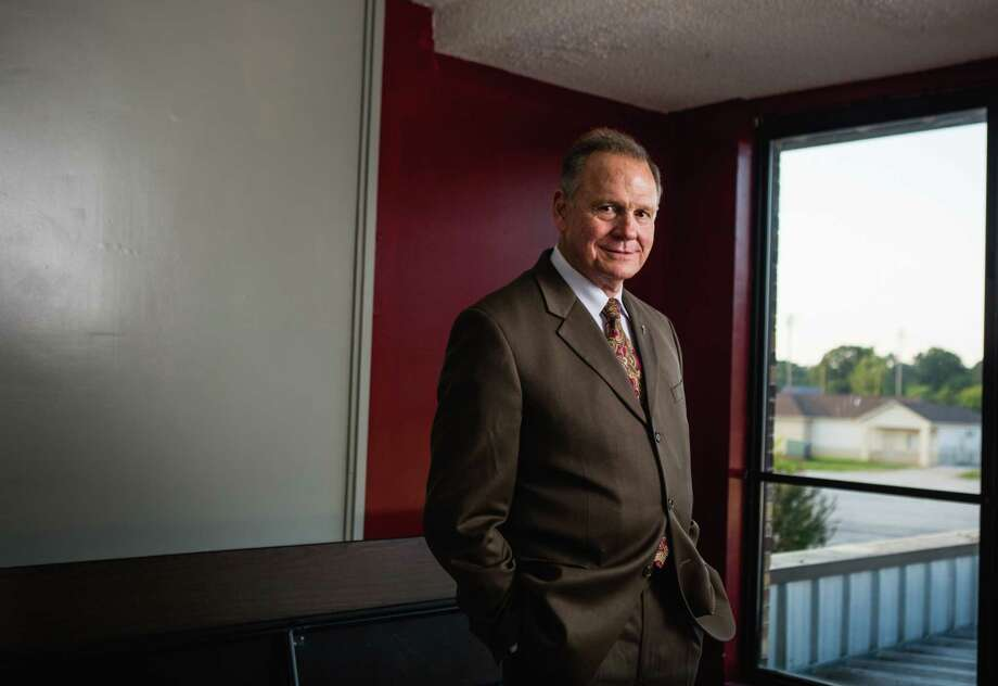 """Judge Roy Moore poses for a portrait after a """"Faith and Family Rally"""" in Florence Alabama at Shoals Christian School on Sept. 17, 2017. Photo: Photo By Nathan Morgan For The Washington Post / For the Washington Post"""