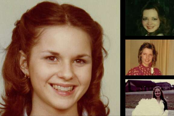 Leigh Corfman, left, in a photo from 1979, when she was about 14. At right, from top, Wendy Miller at around age 16, Debbie Wesson Gibson at around age 17 and Gloria Thacker Deason at around age 18.