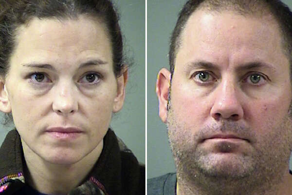 The amorous suspects, 39-year-old Melissa Feist-McCuistion and 40-year-old Adam Emmet Lee, now both face a charge of public lewdness. They were booked into the Bexar County Jail on $1,600 bonds and both bonded out shortly thereafter.