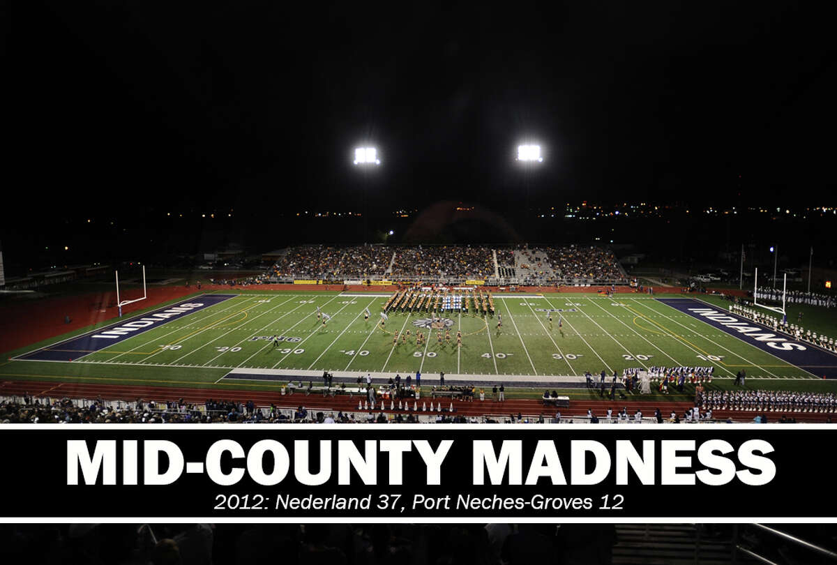 High School Football: 2012 Mid-County Madness. Nederland 37, PN-G 12.