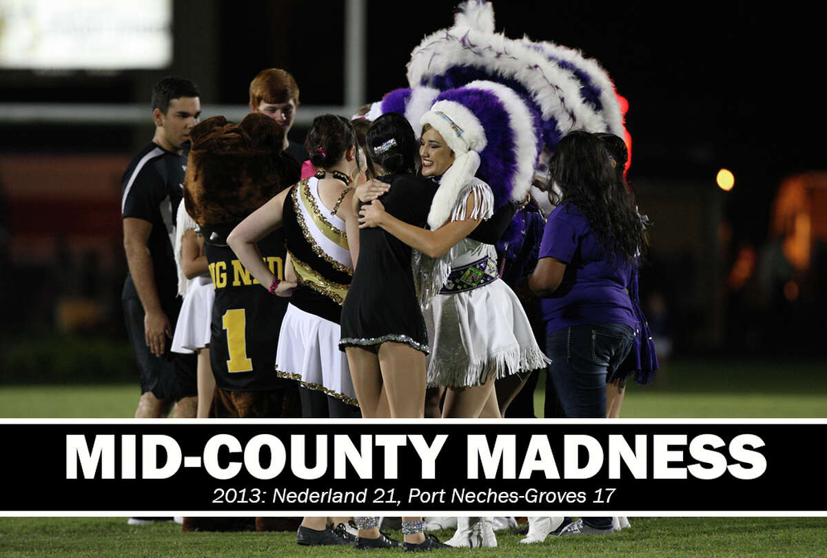 High School Football: 2013 Mid-County Madness. Nederland 21, PN-G 17. The game was marked by the death of legendary Southeast Texas high school, college and NFL coach Bum Phillips.