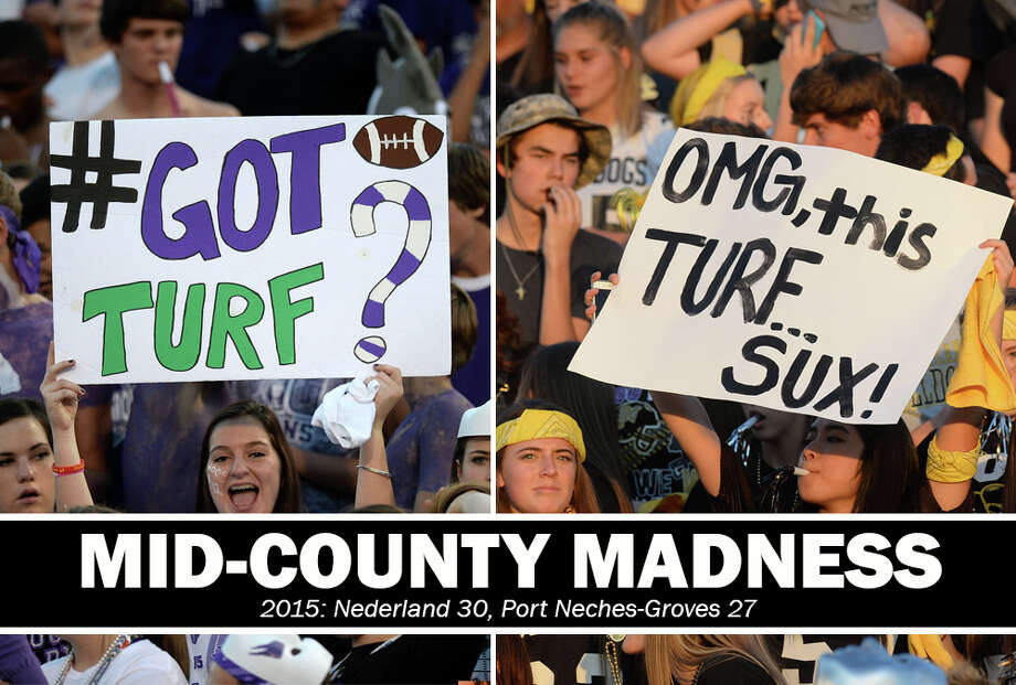 High School Football: 2015 Mid-County Madness. Nederland 30, PN-G 27.