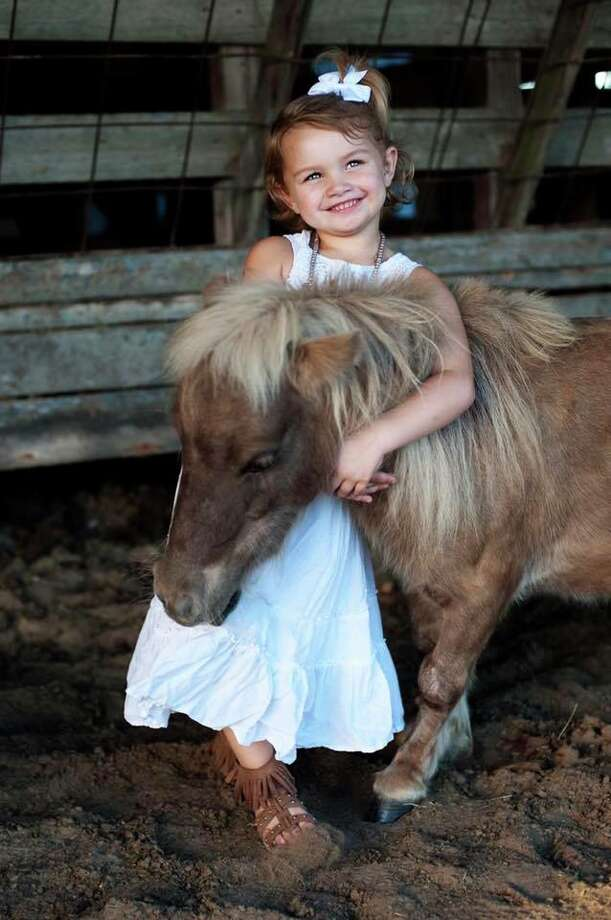 A 5-year-old girl and her family in Liberty County are devastated and seeking justice after the family woke up to find their pet pony, Chicken Nugget, shot to death in his pen on Wednesday, Nov. 8. Photo: Kylee Brett/Facebook