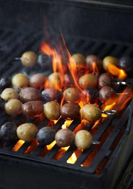 Grilled Potatoes With Herbs de Provence Butter. Photo: John Lee / Special To The Chronicle / online_yes