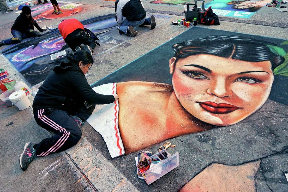 The Via Colori is the Houston's largest and only street painting festival with a massive art gallery composed of paintings from more than 200 local and international artists.