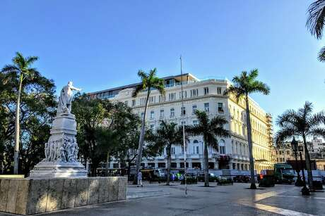 Americans can't stay at the gorgeous new $500/night Gran Hotel Manzana Kempinski which recently opened on Havana's Parque Central Photo: Chris McGinnis / TravelSkills