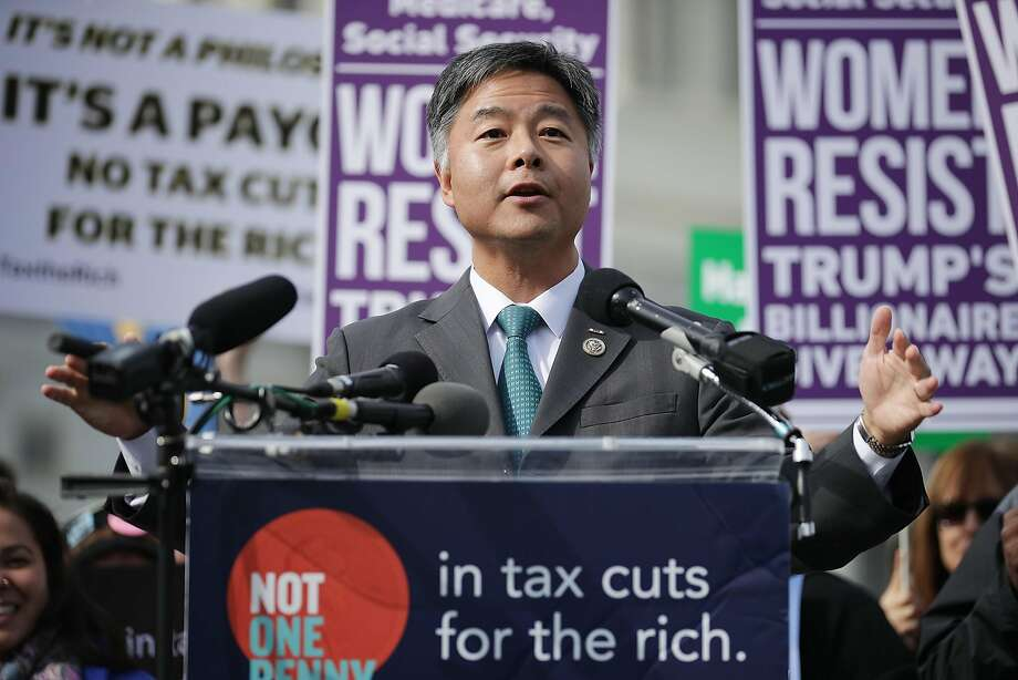 To Rep. Ted Lieu, memorial services do not do shooting victims justice. Photo: Chip Somodevilla, Getty Images