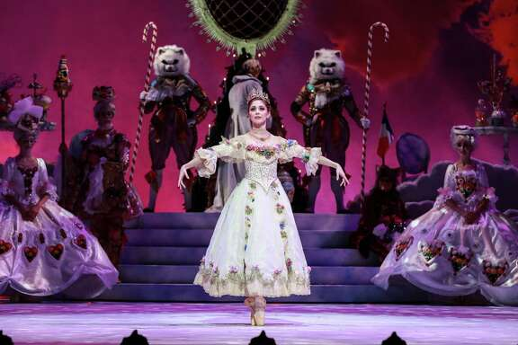 "Melody Mennite is extensively featured as Clara in the world premiere of Stanton Welch's new staging of ""The Nutcracker"" for Houston Ballet."