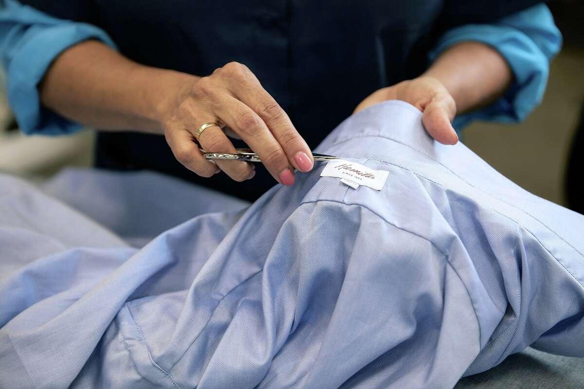 Hamilton Shirts has been handcrafting bespoke shirts in Houston since 1883.