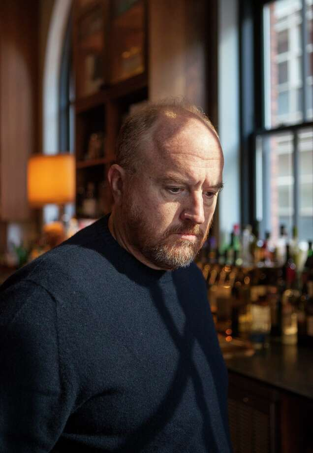 Louis C.K., the comedian, in Toronto, Sept. 10, 2017. After years of unsubstantiated rumors about Louis C.K. masturbating in front of associates, women are coming forward to describe what they experienced. Louis C.K.'s publicist, Lewis Kay, said the comedian would not respond to the accusations. (Angela Lewis/The New York Times) Photo: Angela Lewis/NYT