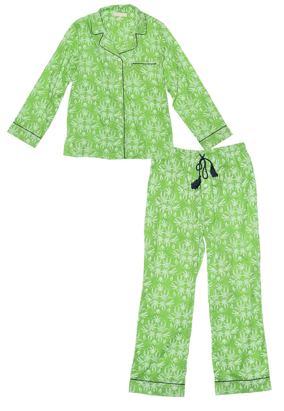 Texas-based Dawson & Hellmann 100 percent cotton voile Pot Toile print womenÂ?'s pajamas; $160 at Kuhl-Linscomb