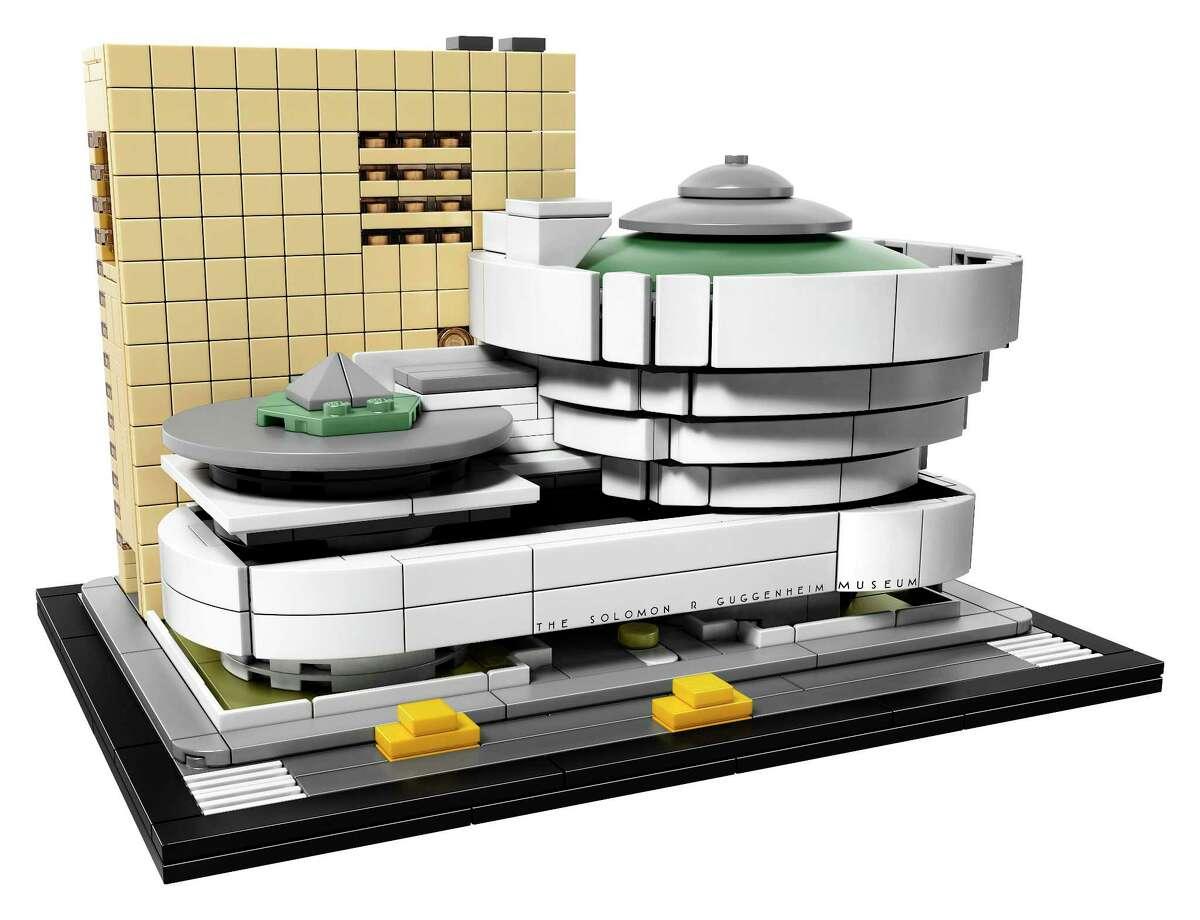 LEGO Architecture Solomon R. Guggenheim Museum; $79 at lego.com