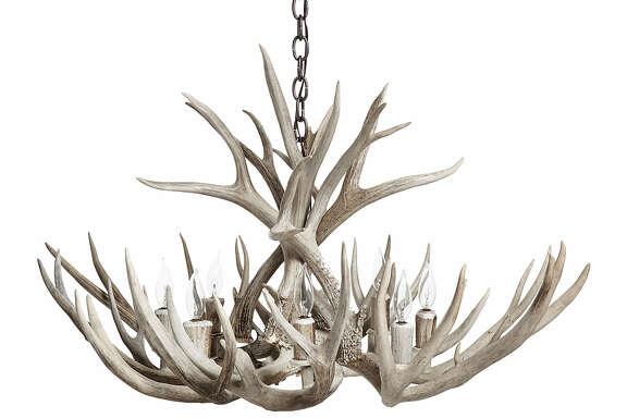 Antler chandelier; $2,520 at Kuhl-Linscomb