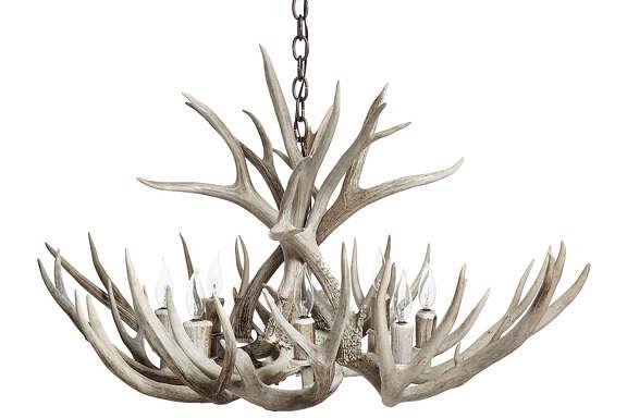 Antler chandelier; $2,520 at Kuhl-Linscomb