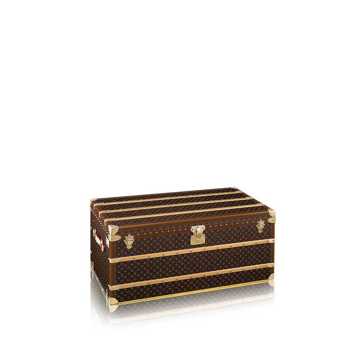 Malle Courrier 110 trunk; $24,700 at Louis Vuitton, Galleria