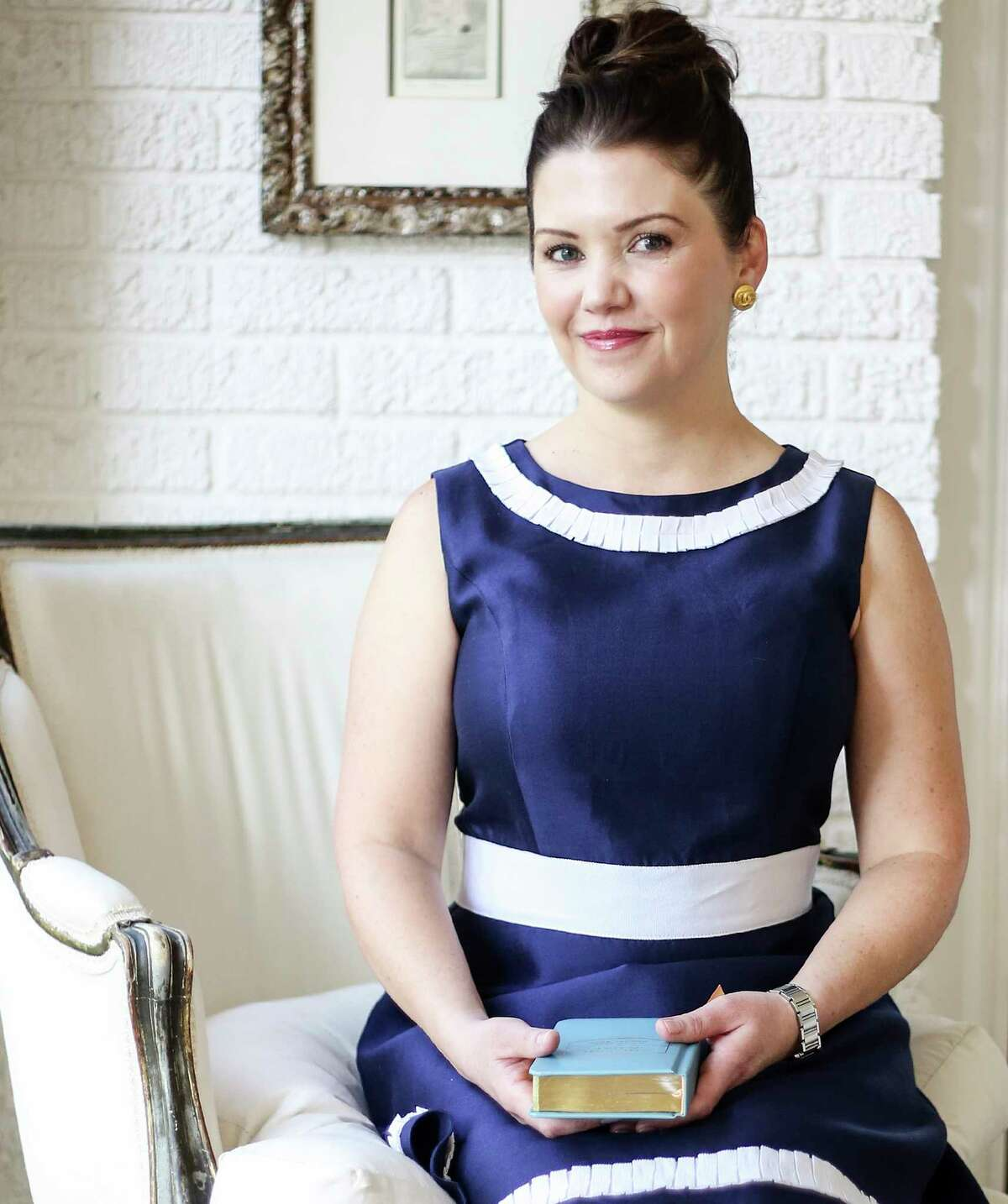 Style profile of Elizabeth Parry, founder of Parry Botanicals in her West University home on Tuesday, July 5, 2016, in Houston. ( Elizabeth Conley / Houston Chronicle )