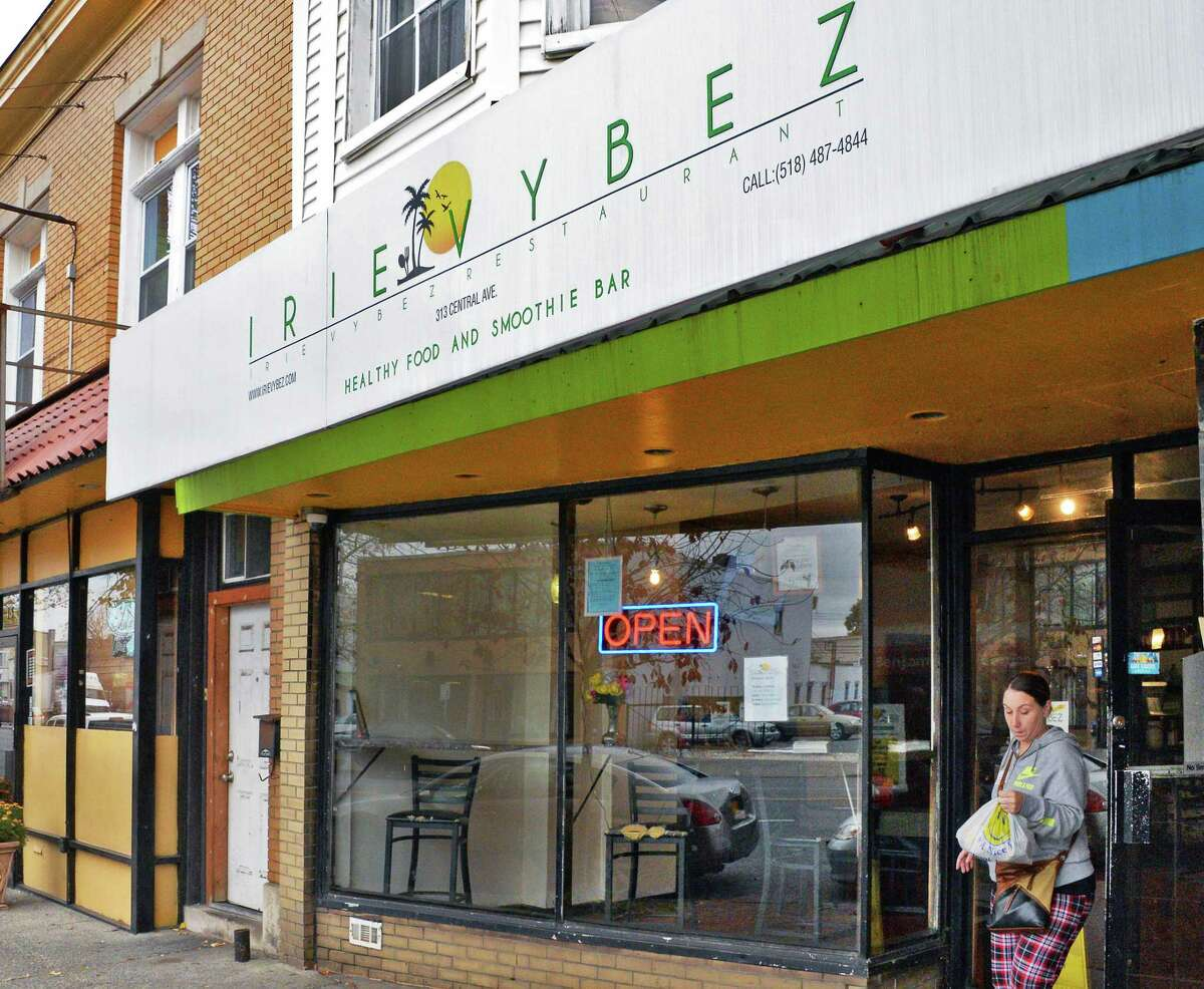 Irie Vybez restaurant on Central Avenue Tuesday Nov. 7, 2017 in Albany, NY. (John Carl D'Annibale / Times Union)