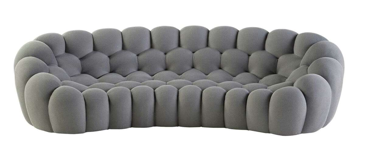 The Roche Bobois Bubble sofa now comes in a five-seat, 115-inch width. It's designed by Sacha Lakic. Price: $9,735
