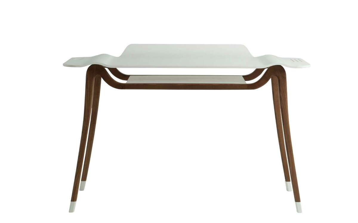 The otherworldly Poppy desk is part of Roche Bobois new collection. Price: $3,855