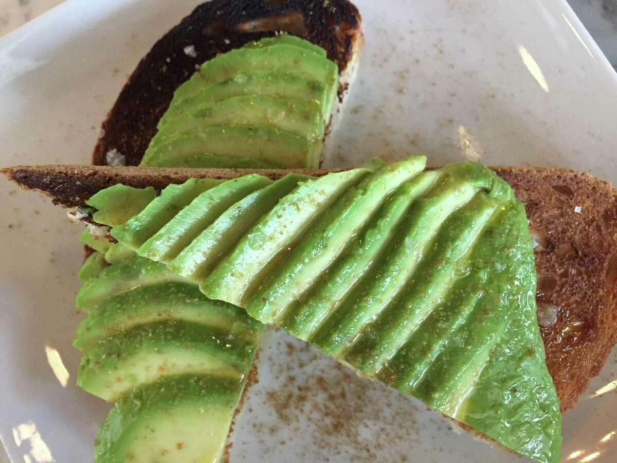 Avocado toast at Rosella at The Rand