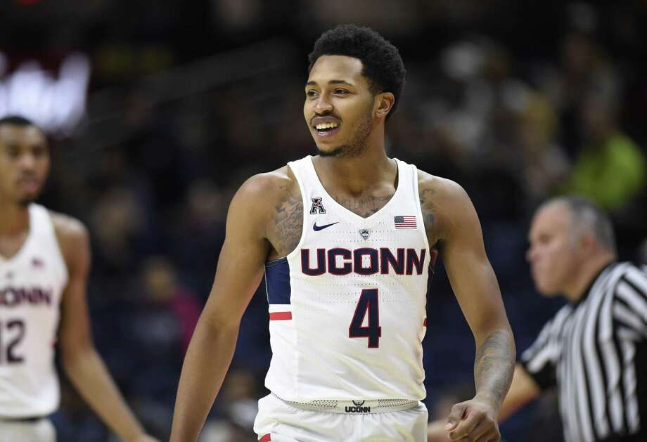 UConn's Jalen Adams. Photo: Jessica Hill / Associated Press / AP2017