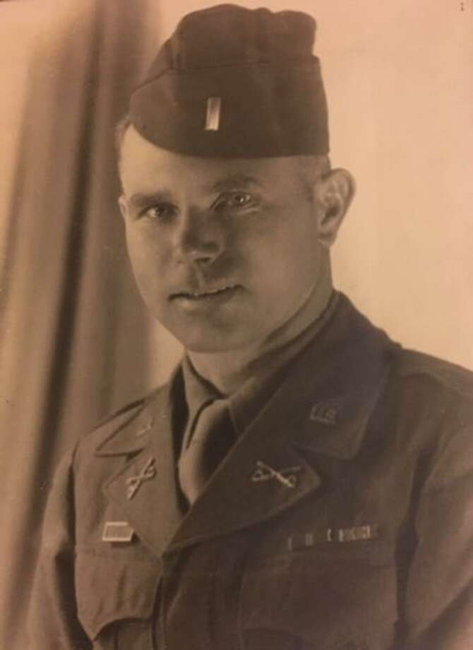 The Lt. Col. Robert Matheson, shown here in an earlier photo, was assigned to General Patton's 3rd army destined for the December 1944 Battle of Bastogne. Photo: Contributed