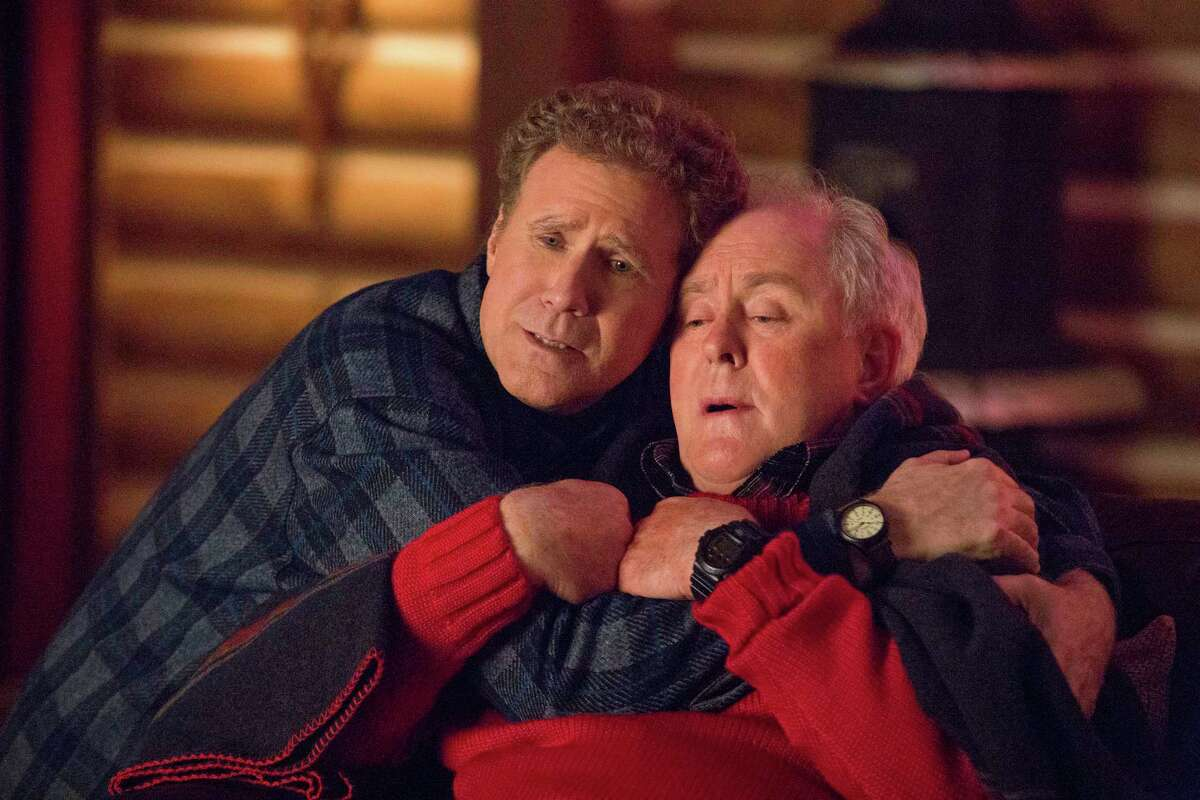 """This image released by Paramount Pictures shows Will Ferrell, left, and John Lithgow in """"Daddy's Home 2."""" (Claire Folger/Paramount Pictures via AP)"""