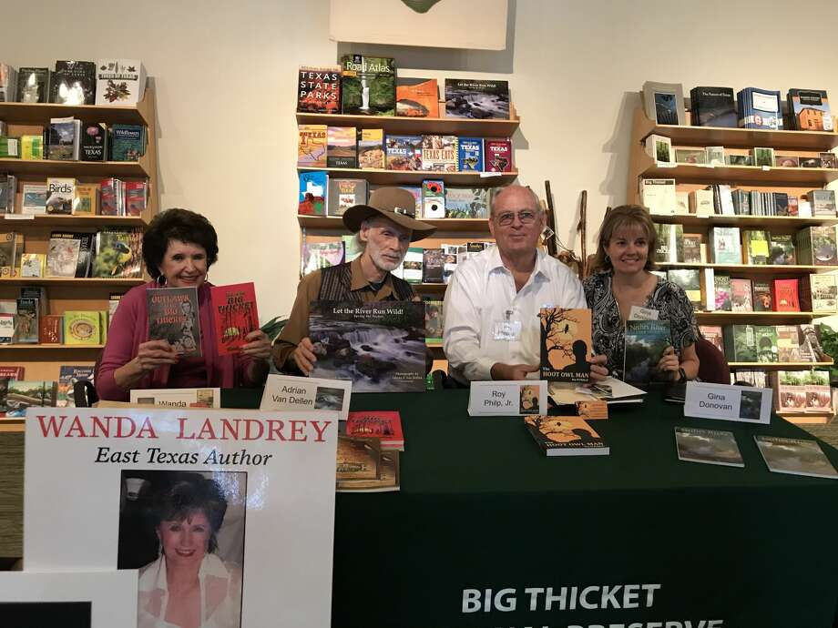 The 2017 Annual Big Thicket Day was held on October 14th and was once again a success. The event featured a book signing of four authors. Photo: Jasper Newsboy