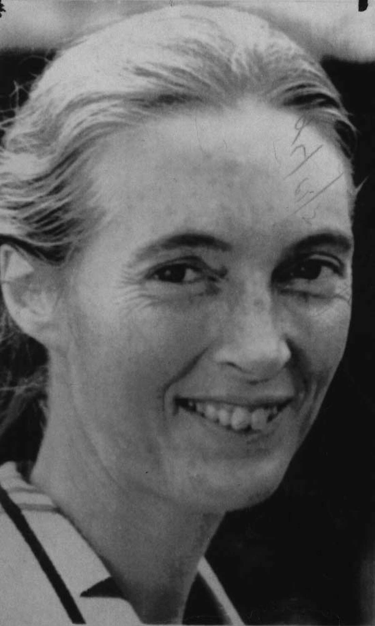 Jane Goodall. 5/12/1976. -1- McBride. (No further information.)