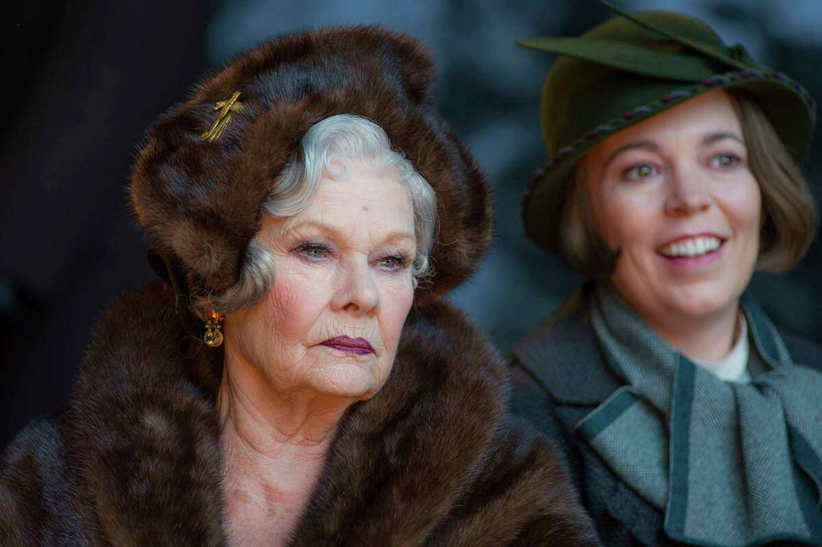 This image released by Twentieth Century Fox shows Judi Dench, left, and Olivia Colman in a scene from,
