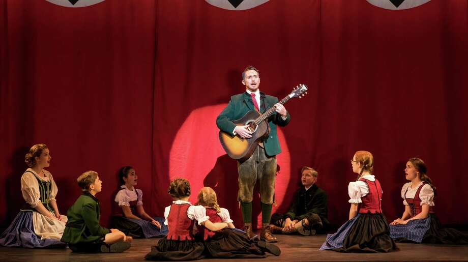 Mike McLean as Captain von Trapp with the von Trapp family. Photo: Matthew Murphy / Contributed Photo