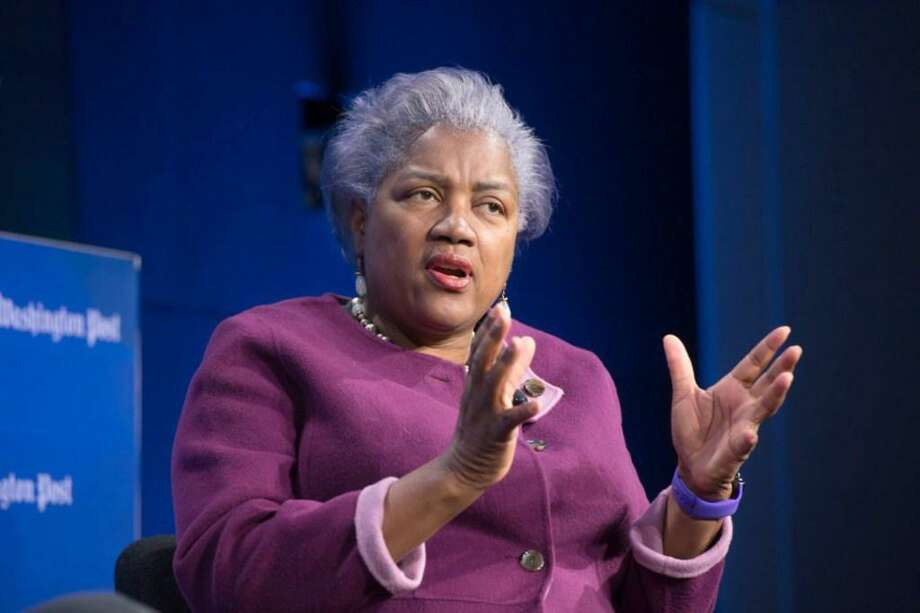 Donna Brazile, former interim chair of the Democratic National Committee, speaks during a Washington Post Live event on March 22. In her new book, Brazile suggests the deck was stacked in the DNC against any candidate not named Clinton. Photo: /