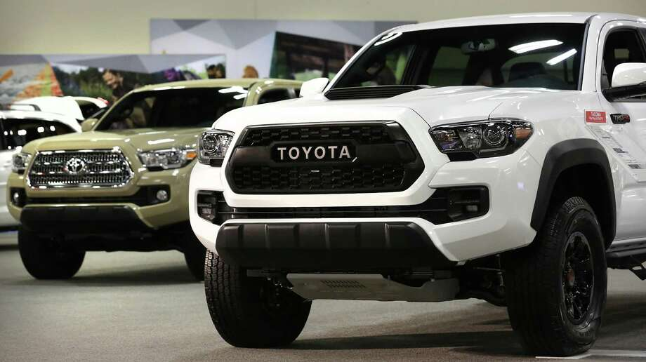 The company's Tacoma midsize pickup — built in San Antonio and Baja California, Mexico — led the way with year-over-year sales growth of more than 3,500, a 21.1 percent over March 2017. Tacoma sales in the first three months are up by more than 10,000 vehicles compared to the first quarter of 2017, a 23.6 percent increase. Photo: Bob Owen /San Antonio Express-News / ©2017 San Antonio Express-News