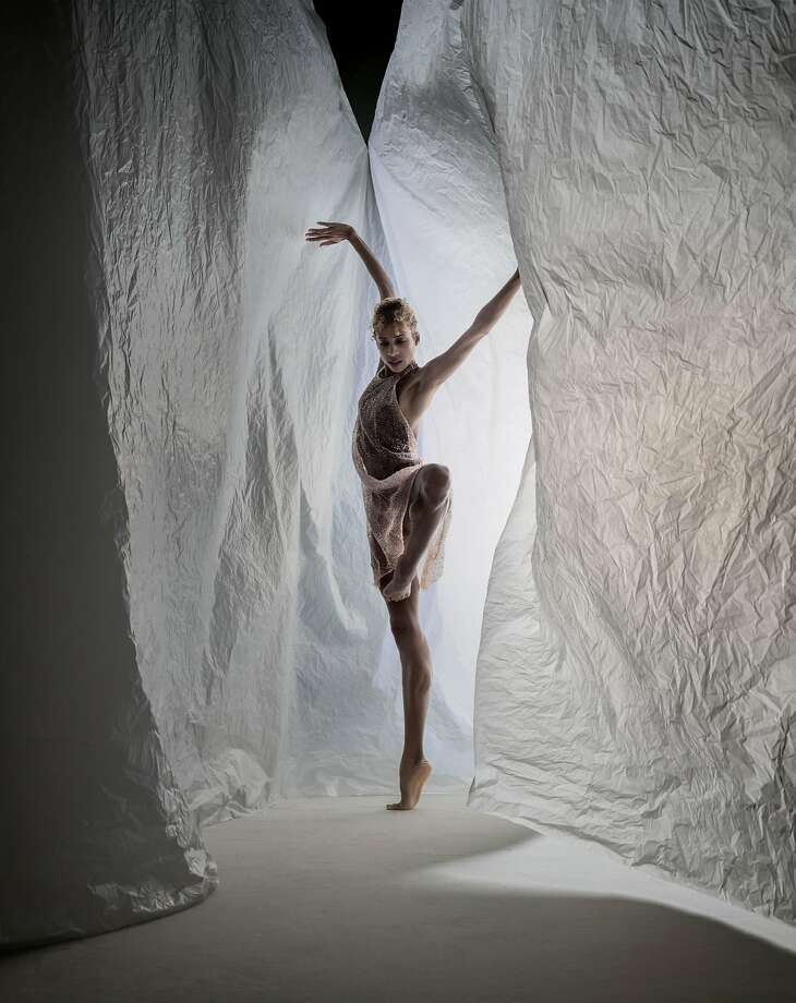 """Adji Cissoko performs in """"The Propelled Heart"""" at Yerba Buena Center for the Arts, Nov. 15-19. Photo: RJ Muna"""