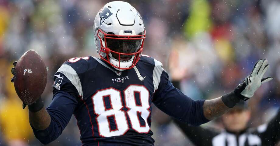 The New England Patriots claimed tight end Martellus Bennett off waivers on Thursday a day after he was cut by the Green Bay Packers. Photo: Maddie Meyer/Getty Images