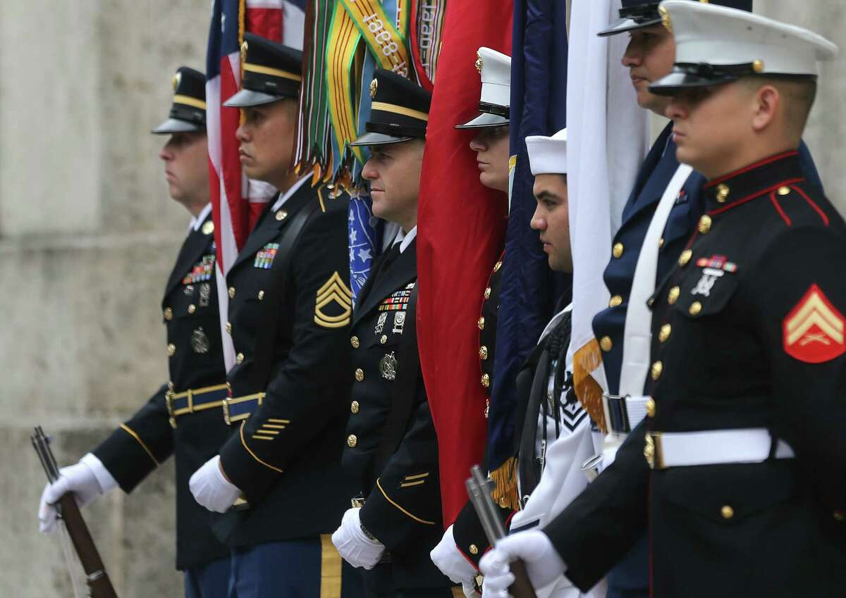 Photos of Houston's Veteran's Day Parade on Wednesday, Nov. 11, 2015, in Houston. ( Elizabeth Conley / Houston Chronicle )