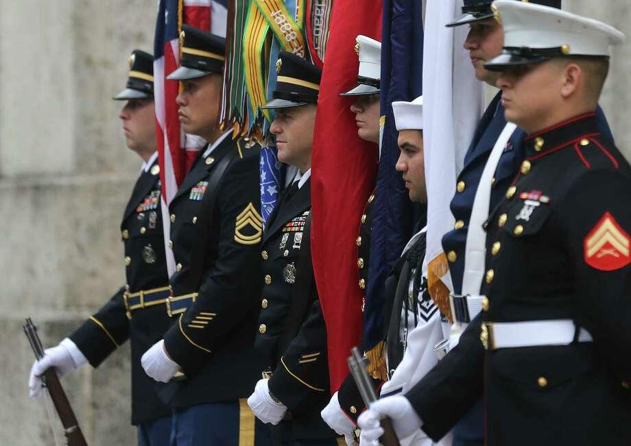 Photos of Houston's Veteran's Day Parade on Wednesday, Nov. 11, 2015, in Houston. ( Elizabeth Conley / Houston Chronicle ) Photo: Elizabeth Conley, Staff / © 2015 Houston Chronicle