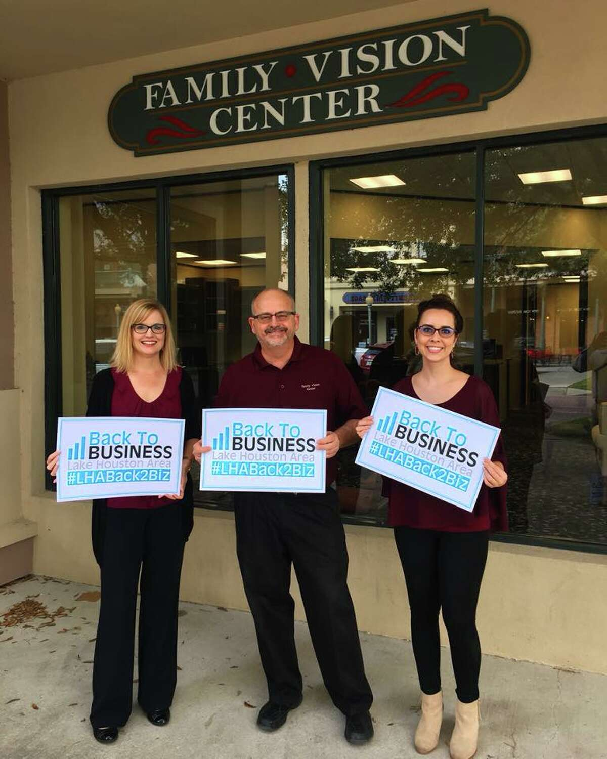 The Family Vision Center has reopened.
