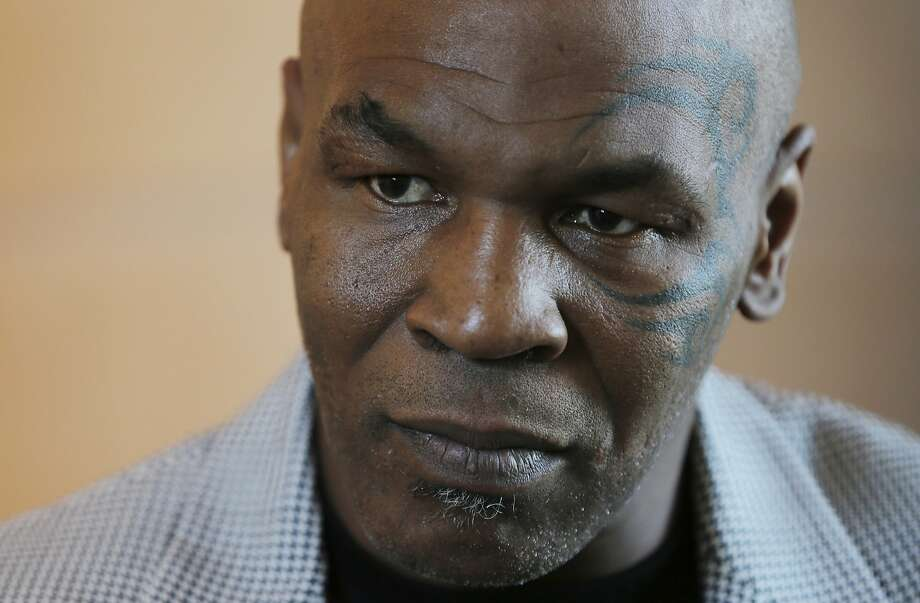 FILE - In this May 4, 2017 file photo, Mike Tyson gives an interview to The Associated Press, in Dubai, United Arab Emirates. Photo: Kamran Jebreili, Associated Press