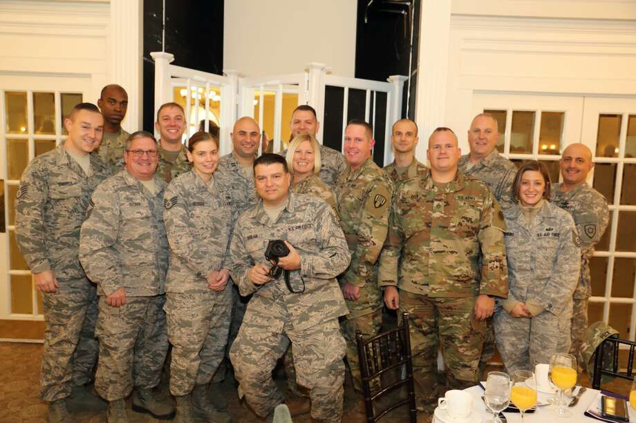 Were you Seen at the 9th Annual To Honor and Serve Veterans Breakfast hosted by the Unified Military Affairs Council, Capital Region Chamber held at the Glen Sanders Mansion in Scotia on Thursday, November 9, 2017? Photo: Gary McPherson - McPherson Photography