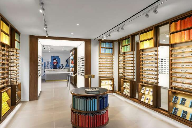 Warby Parker has opened a second S.F. location at 216 Stockton St. Hammond  sunglasses in Crystal Aqua, an ode to the bay, and a limited-edition lens cloth  designed by local artist Tucker Nichols, are exclusive to the new store.