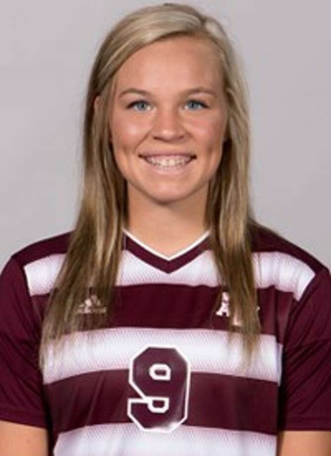 Texas A& soccer player Grace Piper. Photo: Texas A& Sports Information