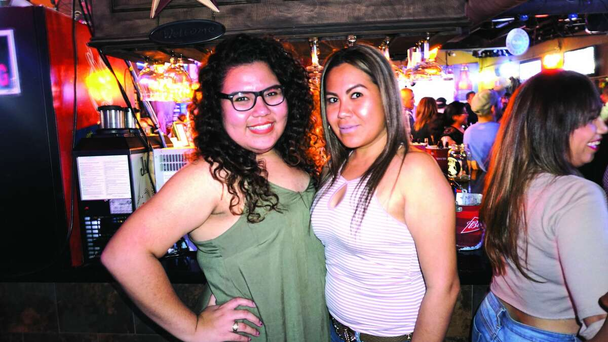 Maria Salas and Blanca Aguilar at Rumors Country Bar & Patio. Friday, November 10, 2017